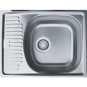 Кухонная мойка Franke Eurostar ETN 611-56 матовая (101.0174.517)