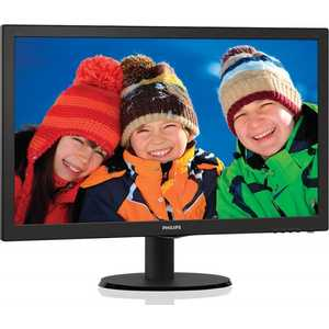 Монитор Philips 193V5LSB2 (62/10) монитор 19 philips 206v6qsb6 62