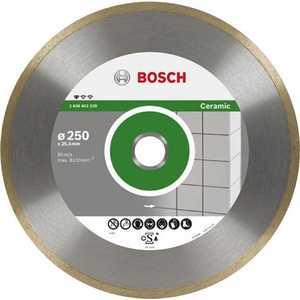 Диск алмазный Bosch 200х25.4мм Standard for Ceramic (2.608.602.537) алмазный диск bosch standard for ceramic 115 22 23 2608602201