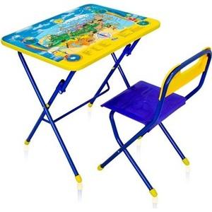 Набор мебели Ника ''Первоклашка-Осень'' стол-парта и пластиковый стул (КПУ1/11)