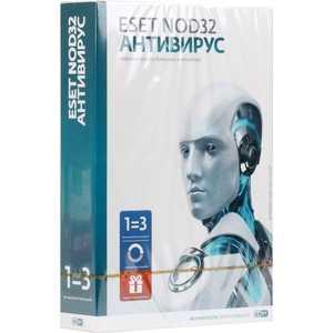 Программное обеспечение ESET NOD32 Антивирус - лицензия на 1 год 3 ПК или продление 20 мес, Box (NOD32-ENA-1220(BOX)-1-1)
