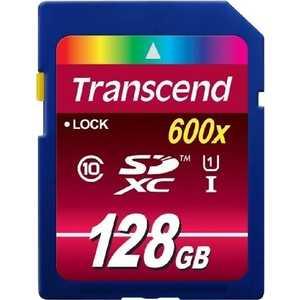 Карта памяти Transcend TS128GSDXC10U1
