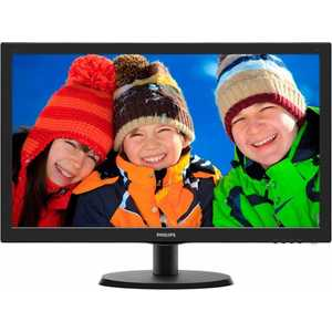 Монитор Philips 223V5LSB2 (10/62) монитор 19 philips 193v5lsb2 10 62