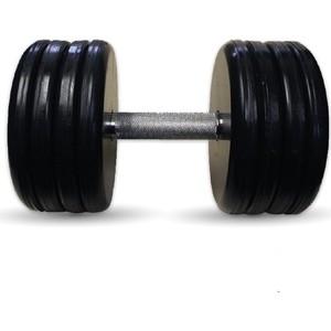 Гантель профессиональная MB Barbell Профи черная 46 кг гиря mb barbell 16 кг