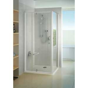 Душевая стенка Ravak Pivot PPS 90х190 см, стекло прозрачное, профиль белый (90G70100Z1)