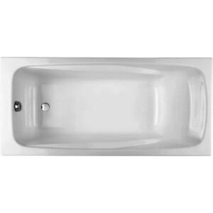Чугунная ванна Jacob Delafon Repos 180x85 без отверстий для ручек (E2904-00)