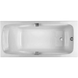 Чугунная ванна Jacob Delafon Repos 180x85 с отверстиями для ручек (E2903-00)