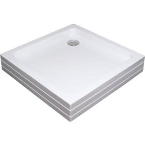 Душевой поддон Ravak Angela PU 80х80 см (A004401120) поддон для балконного ящика ingreen цвет белый длина 60 см