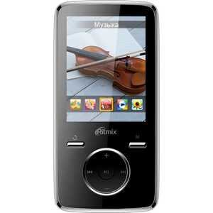 MP3 плеер Ritmix RF-7650 8Gb black mp3 плеер ritmix rf 4850 8gb dark red