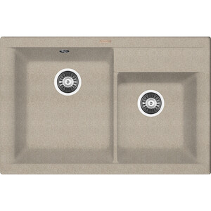 Кухонная мойка Florentina Касси 780 песочный FG (20.230.E0780.107)