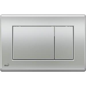 Кнопка смыва AlcaPlast матовый хром (M272) кнопка смыва alcaplast хром глянцевая кнопка матовая m173