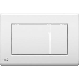 Кнопка смыва AlcaPlast белая (M270)