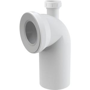 Отвод для унитаза AlcaPlast 90° с присоединением на D40 (A90-90P40) цена