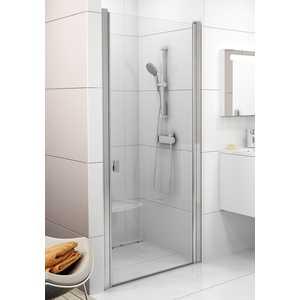 Душевая дверь Ravak Chrome CSD1 90 прозрачная, сатин (0QV70U00Z1)