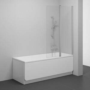 Шторка на ванну Ravak Chrome CVS2-100 R прозрачная, сатин, правая (7QRA0U00Z1)