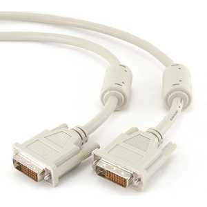 Кабель Gembird Кабель DVI-D dual link 3м (CC-DVI2-10/ CCG-DVI2-10B), фото