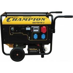 Генератор бензиновый Champion GG7501E-3 авр champion для dg15es 3 dg12es 3