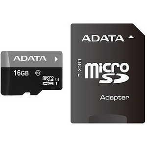Фото - Карта памяти ADATA microSDHC 16Gb Class 10 UHS-I (SD адаптер) (AUSDH16GUICL10-RA1) карта памяти micro securedigital 16gb sandisk ultra android microsdhc class 10 uhs i sdsquns 016g gn3ma адаптер sd