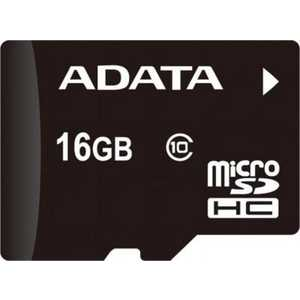 Карта памяти ADATA microSDHC Class 4 (AUSDH16GCL4-R) kosadaka cord r xs 110