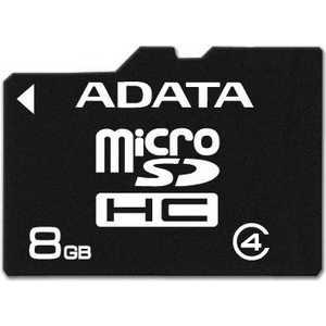 ADATA microSDHC Class 4 (AUSDH8GCL4-R)