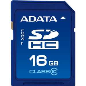 A-Data SDHC Class 10 UHS-I (ASDH16GUICL10-R) micro securedigital 32gb a data sdhc class 10 uhs i a1 ausdh32guicl10a1 r