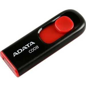 Флеш-диск ADATA 16Gb Classic C008 Черный (AC008-16G-RKD) флеш диск a data 8gb classic c008 черный ac008 8g rkd