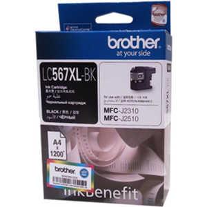 Картридж Brother (LC567XLBK)