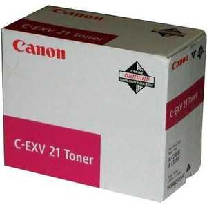 Canon Тонер C-EXV21 Magenta (0454B002)