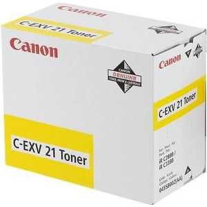 Canon Тонер C-EXV21 Yellow (0455B002)