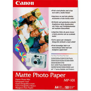 Фото - Canon Фотобумага Матовая (7981A005) canon фотобумага глянцевая 2311b019