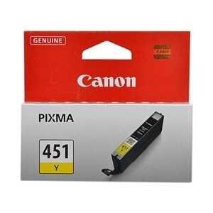 Картридж Canon CLI-451 Y (6526B001)