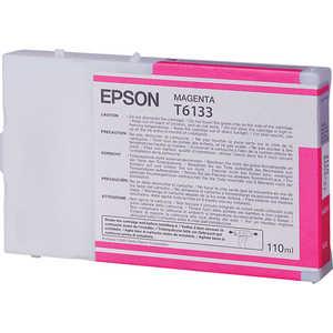 Картридж Epson T6133 100ml. magenta (C13T613300) цена 2017