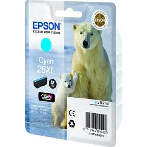 Картридж Epson C13T26324012 картридж epson для xp600 7 8 c13t26324012 голубой