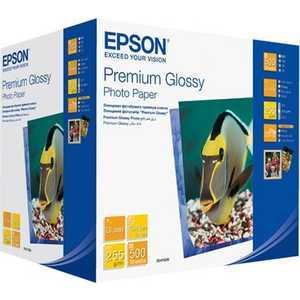 Фотобумага Epson Premium Glossy A6 500 листов (C13S041826) цена