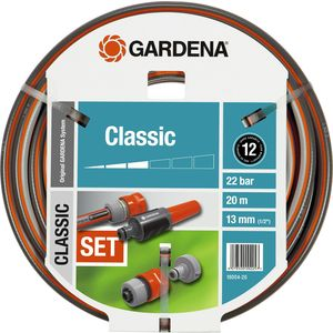 цена на Шланг Gardena 1/2 (13мм) 20м с комплектом фитингов Classic (18004-20.000.00)
