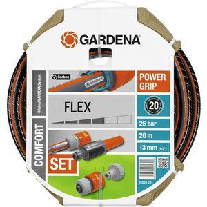 Шланг Gardena 1/2 (13мм) 20м с комплектом фитингов Flex (18034-20.000.00)