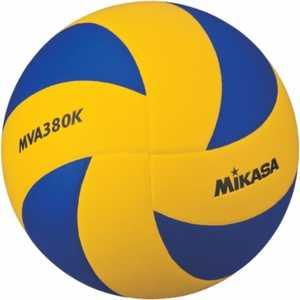 Мяч волейбольный Mikasa MVA380K размер 5 сине-желтый мяч для водного поло mikasa w6609c жен размер