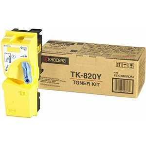 Картридж Kyocera TK-820Y (1T02HPAEU0)