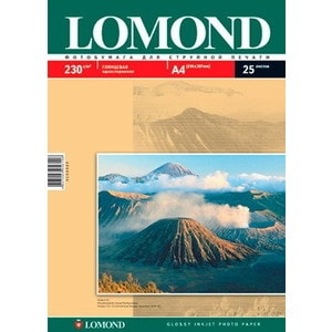 Фотобумага Lomond A4 глянцевая (102049)