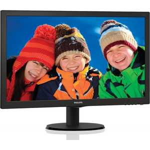 Монитор Philips 243V5LSB (10/62) монитор philips 243v5lsb black