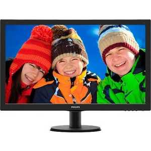 Монитор Philips 273V5LHSB Black монитор philips 243v5lsb black