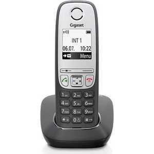Радиотелефон Gigaset A415 черный цена и фото