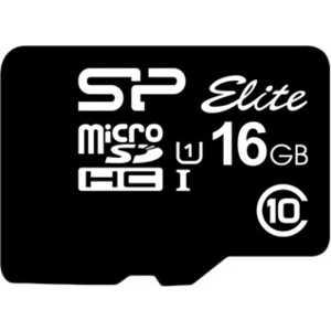 Silicon Power microSD 16GB Class 10 UHS-I (SD адаптер) (SP016GBSTHBU1V10-SP) silicon power microsdhc class 10 16gb карта памяти sd адаптер