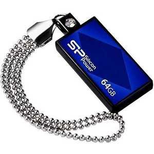Флеш-диск Silicon Power 64Gb Touch 810 Синий (SP064GBUF2810V1B)