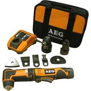 цена на Универсальный резак AEG Omnl12C Li-152B Kit2