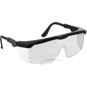 Очки защитные FIT с регулируемыми дужками прозрачные (12221)