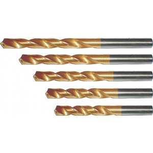 Набор сверл по металлу FIT 1.5-6.5мм 13шт титановое покрытие (34217) набор сверл металл 2 8 мм через 0 5 мм hss 13 шт цилиндрический хвостовик sparta