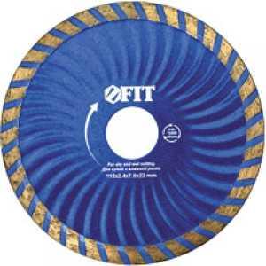 Диск алмазный FIT 230х22.2мм Турбо Волна (37487)