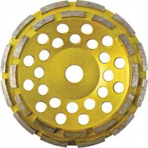 Круг шлифовальный FIT 125мм алмазный двойной ряд (39517) цена