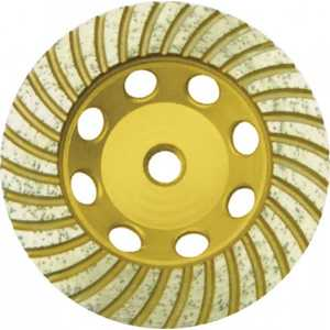 Чашка алмазная шлифовальная FIT 125х22.2мм Турбо (39521)